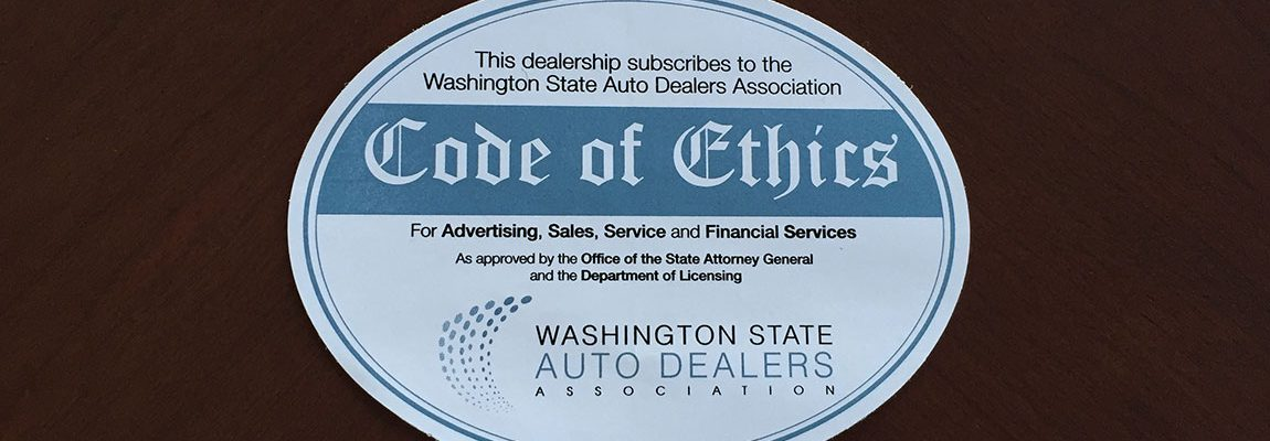 Dealer Code of Ethics